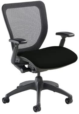 Mid-Back WXO Office Chair Seat Color Mystic Black
