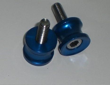 Moto Bequille Diabolos Color/é M10 Chrome Accessoires Garage Reparation or