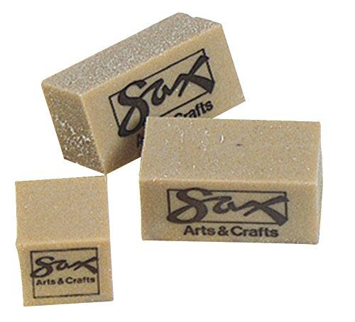Art Eraser - Sax Gum Art Eraser, 2 x 1 x ½ Inches, Brown, Pack of 12