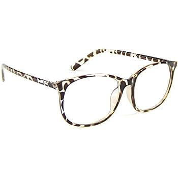 1c96905c00fe Cyxus Blue Light Filter Computer Glasses for Blocking UV Headache  Anti Eye  Fatigue  Transparent Lens Unisex (Leopard Print)