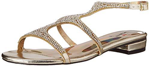 Luichiny Women's Chan Ning Dress Sandal, Gold, 7 M US -