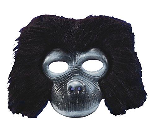 Rubie's Costume Co. Unisex-Adult's Standard Plush Gorilla Mask, Multicolor, One -