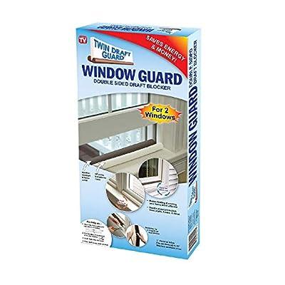 Twin Window Draft Guard Power Bill Saver As Seen on TV (Set of 2)