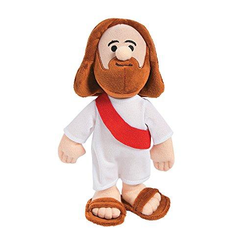 1 Piece Plush - Fun Express - Plush Jesus - Toys - Plush - Stuffed Non Animal - 1 Piece