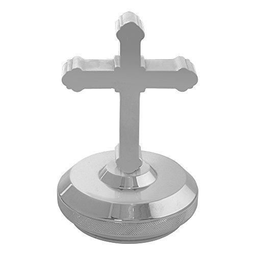 (Grand General 48291 Chrome Aluminum Cross Hood Ornament)