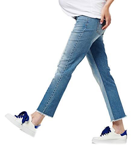 Cut Esprit Boot medium 960 Blau Donna Wash Maternity Jeans nwgrtg