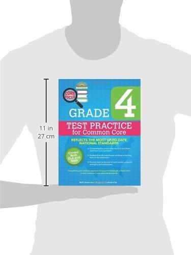 Barron's Core Focus: Grade 4 Test Practice for Common Core: Kelli ...