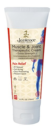 Pain Inflammation Muscle (Muscle & Joint Therapeutic Cream - Extra Strength - 4.5oz | Analgesic Joint Cream for Pain | Experience Lower Back Pain Relief & Support | Arthritis & Inflammation Relief | Dit Da Jow Rub by Jadience)