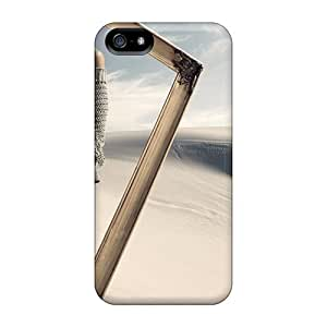 Rugged Skin Case Cover For Iphone 5/5s- Eco-friendly Packaging(sands Sahara Abstract)