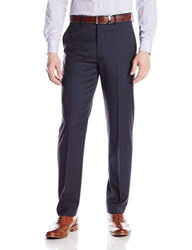 DKNY Men's Suit Separate Pant (Blazer and Pant), Navy Stripe, 30W x 32L