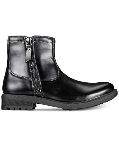 6ab7b94628c Unlisted by Kenneth Cole Mens C-Roam Zip-Up Boot (Black