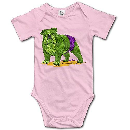 [Summer Cute Hulk Dog Baby Girls Boys Climb Jumpsuit Newborn Pink] (Hulkbuster Costume For Kids)