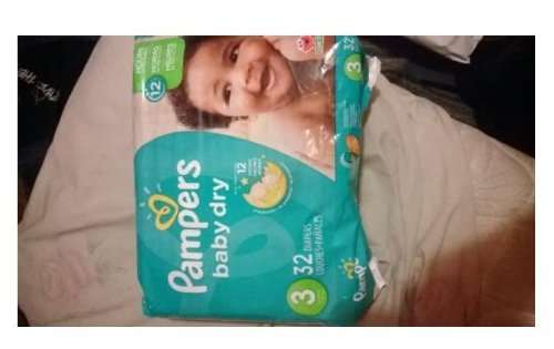 Pampers Size 3 Baby Dry Diaper, 32 count per pack -- 4 per case.