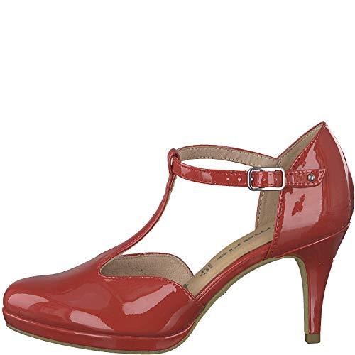 Chili 1 it Noche 1 Tacón De Zapatos Patent 32 señora Tamaris Mujer 24433 touch wIH7ZZ