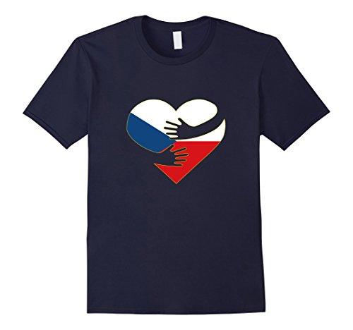 Czech Republic Flag Heart - 5
