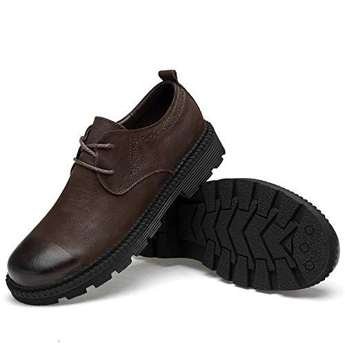 2018 Schuhe Herren Männer Low Top Classic Fashion Outdoor Soft Und Baumwolle Warm Formale Schuhe (Herkömmliche optional) Für zu Fuß, zu Hause leben und Unternehmen ( Color : Braun , Größe : 46 EU ) Braun