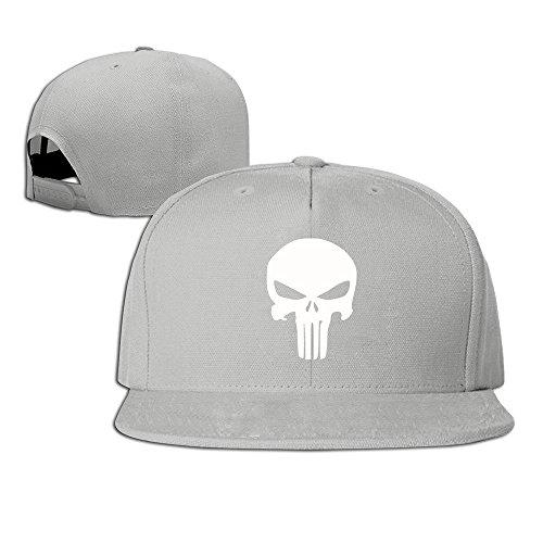 Unisex The Punisher Snap Cap Ash - Punisher Snap