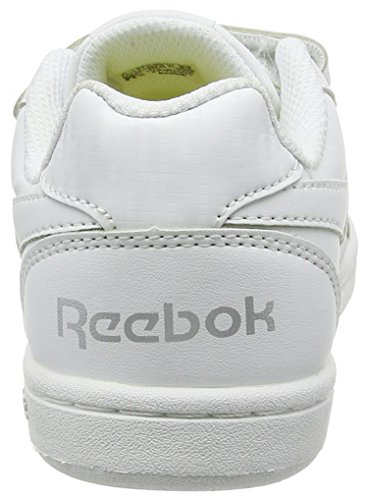 Reebok Royal Prime Alt, Zapatillas Unisex Niños Blanco (White / Silver)