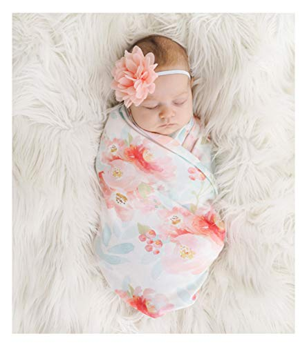 How to buy the best swaddle blanket girl with headband?
