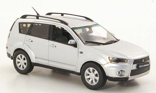 Mitsubishi Outlander, silber, 2010, Modellauto, Fertigmodell, Vitesse 1:43