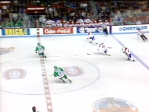 May 1, 1992: Hartford Whalers vs. Montreal Canadiens - Division Semi-Final Game - Hartford Game Whalers
