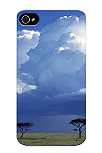 For OznGuqG1377PFatN Storm Over The Savannah, Masai Mara National Reserve, Kenya Protective Case Cover Skin/iphone 4/4s Case Cover