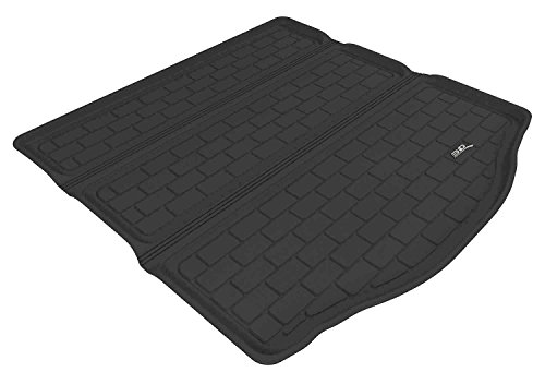 3D MAXpider Cargo Custom Fit All-Weather Floor Mat for Select Ford Focus Models – Kagu Rubber (Black)
