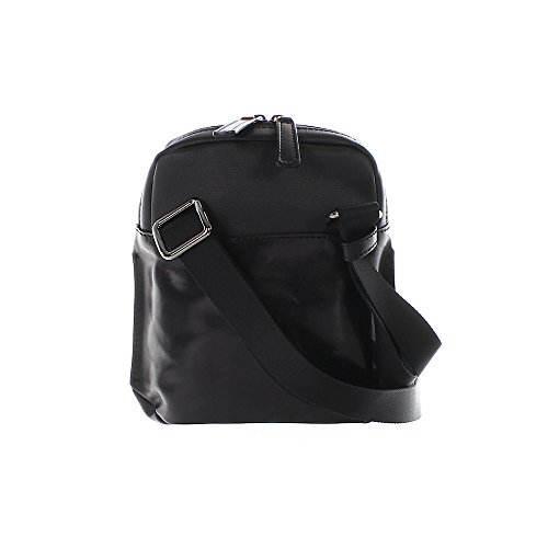 The Bridge Hydro borsa a tracolla Uomo pelle 18 cm nero/gun metal