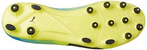 Puma Evopower 2.3 Ag - Botas de fútbol Hombre Gelb (safety yellow-black-atomic blue 01)