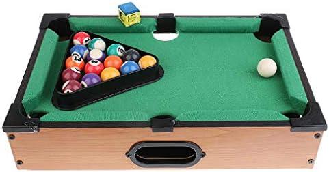 Hmcozy Mini Mesa de Billar Mesa de Escritorio Billar Conjuntos de Juguetes Bolas de los Deportes Deportes Juguetes de Navidad Regalo de diversión Familiar Entretenimiento: Amazon.es: Hogar