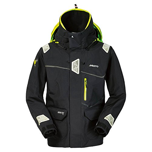 Musto MPX Offshore Gore-Tex Race Jacket in Black SM1266 Size-- - Medium (Musto Race Mpx)