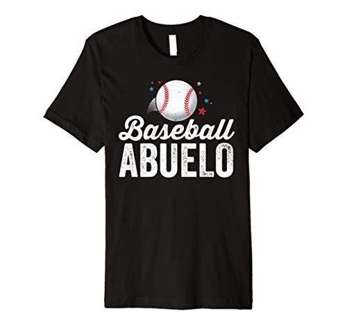 Baseball Abuelo Shirt Grandpa Grandfather Latino Gift