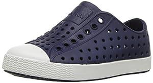 native Kids Jefferson Child Water Proof Shoes, Regatta Blue/Shell White, 11 Medium US Little Kid