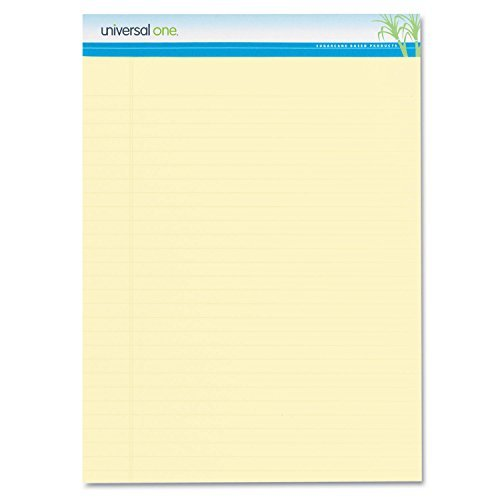 Sugarcane Sugarcane Based Writing Pads, 2 50-Sheet Pads/Pack [Set of 2] by Universal by Universal