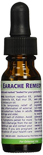 Seagate Products Homeopathic Extract Earache