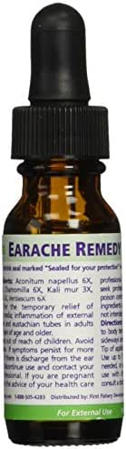 Seagate Products Homeopathic Olive Leaf Extract Earache Remedy 0.5 oz (Pack of 1)