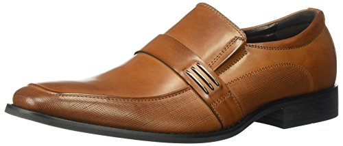 Unlisted by Kenneth Cole Men's Design 30382 Loafer, Cognac, 10.5 M US
