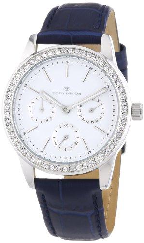 TOM TAILOR Damen-Armbanduhr Analog Quarz Leder 5411807