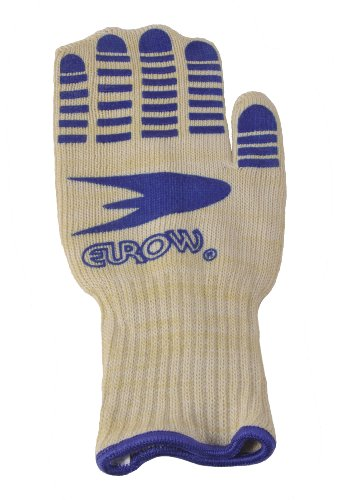 Flame Resistant Long Oven Mitt with Silicone