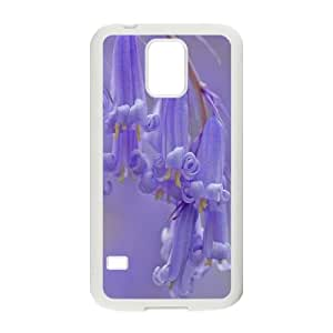 diy Custom Case Cover for SamSung Galaxy S5 i9600 - Purple bells case 7