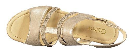 Gabor 45-791-62 - Sandalias  Sandalias Mujer Oro