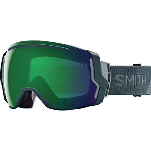 Smith Optics Adult I/O 7 Snowmobile Goggles Thunder Split / ChromaPop Everyday Green Mirror by Smith Optics