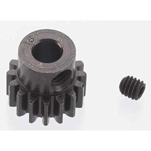 Robinson Racing 8616 Extra Hard 16 Tooth Blackened Steel 32P Pinion 5Mm ()
