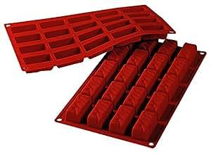 Molde de silicona rectangular ice cream 20 cavidades - Moldes silicona amazon ...