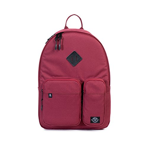 Parkland Academy Backpack, Maroon, One Size