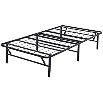 Amazon Com Mainstays 14 Quot High Profile Foldable Steel Bed
