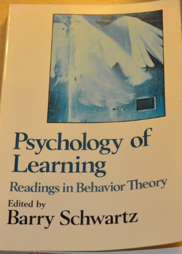 Psychology of Learning: Readings in Behavior Theory