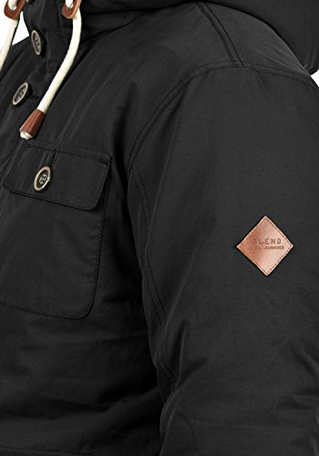 Invierno Hombre 70155 De Blend Chaqueta Para Black Ciro tzaqxZnC