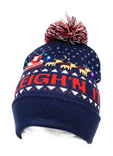 14f0db48123 Steelo LED Light Up Christmas Beanie