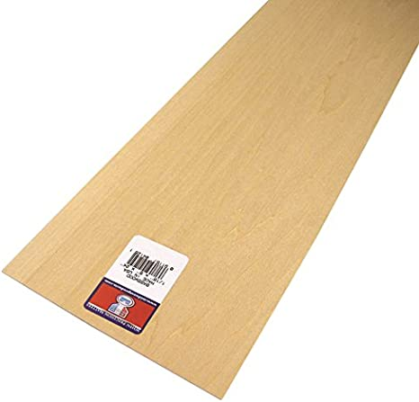 1//16 X 8 X 12 Inch Thin Plywood Wood Sheets for Crafts 10 Pack Basswood Sheet